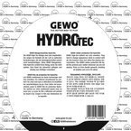 защитная пленка GEWO HydroTec not self-adhesive