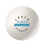 пластиковый мяч DONIC Coach P40+ Cell-Free 1pc.